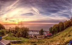 Ich würd sagen, definitiv einer der spannensten Sonnenuntergänge auf Rügen - Lohme Blick zum Kap Arkona.