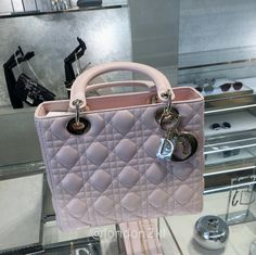 Medium Lady Dior in Powder Pink RM15,500 ❤❤❤ it? Order now. Once it's gone, it's gone! Just WhatsApp me +44 7535 715 239, Erwan.  Click my account name for other great items. #l2klDior #l2klDior #l2klDior