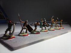 Gladiadores 1/72, figuras de Orion, Pegasus e Italeri