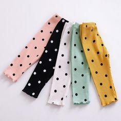 Polka Dot Leggings | Baby Pants | Horse & Bunny