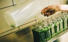"""Apothecary-Inspired Juice Shops : """"raw juice bar"""""""