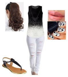 """""""Outside"""" by mini-14 ❤ liked on Polyvore"""
