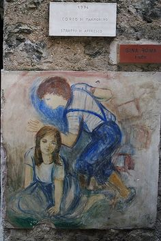 MURALES CIBIANA di CADORE BL   #TuscanyAgriturismoGiratola