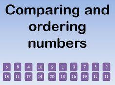 The 43 best ordering numbers eyfs images on pinterest preschool eyfs teaching resources maths comparing and ordering numbers iwb teaching resources ibookread ePUb