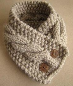 cable knit cowl Mais