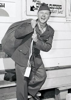 Mickey Rooney enlisted in 1944 and served through the end of the war.... I love him!!