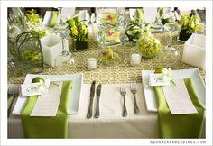Beautiful tropical decor- Costa Rica wedding