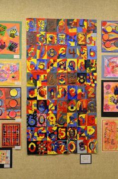 Expedition: Art: Grade Jasper Johns Collaborative at the Museum! High School Art, Middle School Art, Classroom Map, 8th Grade Art, Flag Painting, Jasper Johns, West Art, Mark Rothko, Outdoor Art