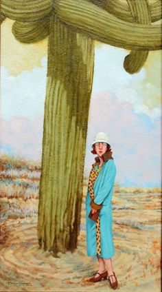 """Couldn't Believe it Either, Oil Painting, 34"""" x 19"""" $4,350"""