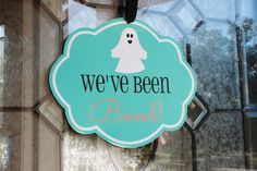 "We've been ""Boo""ed! FREE Printables and a fun idea to give your neighbors and friends Halloween treats!"