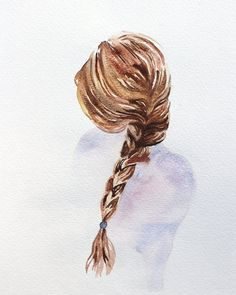 softer. giclee fine art print of watercolor by SangtheSwallow