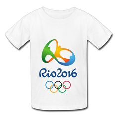 Kids White Big Boys' Girls' T Shirt The 2016 Rio De Janeiro Olympic Games Logo. Imported,Material - 100% Cotton The 2016 Rio De Janeiro Olympic Games Logo Tee. Comfortable,casual And Popular,custom An Unique T-shirt To Suit Your Personal Style. Fast Shipping With 7-14 Days To Your Doors. If The Product You Receive Is Not As Described Or Low Quality,we Promises That You May Return It. A Great Retro Look For An All-time Fan.