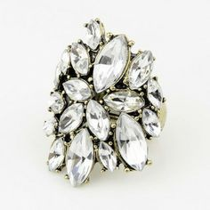 Magic Mirror Statement Ring (Adjustable) | LilyFair Jewelry, $10.99!