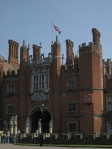 Hampton Court Palace, Grew up in Effingham, Surrey England.