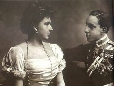 H.M. King Alfonso XIII of Spain and H.S.H. Princess Victoria Eugenia of Battenberg