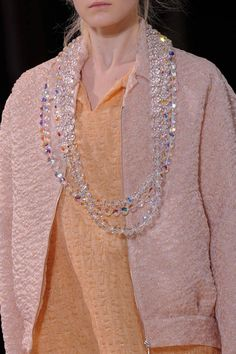 Bijoux, Bijoux: Spring 2014 Runway Jewelry. Crystal Clear