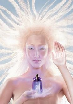 Thierry Mugler's Alien perfume.