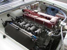 Alfa Spider - White - TS engine spec producing a superb 216BHP held from 6800-7300 rpm.