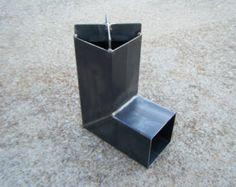 Rocket Stove Self Feeding Gravity Feed Design all by ironoflife