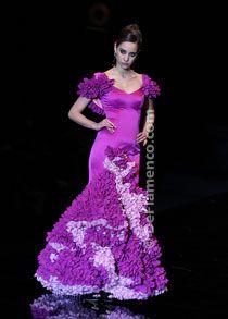 Flamenco dress... LOVE the color!