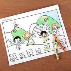 It's a Small World Coloring Page - Ireland