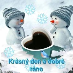 Good Morning, Tableware, Funny, Inspiration, Gowns, Snowman, New Years Eve, Buen Dia, Biblical Inspiration
