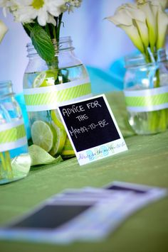 Photography themed baby shower