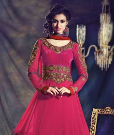 Refresh your traditional style sense! Show an image makeover at the workplace or create your own vogue cult with these absolutely gorgeous suits. From hues to the fabrics, there is only sheer Indian ingenuity.BRAND: HypnotexCATEGORY: Unstitched Suit with DupattaARTICLECOLOURMATERIALLENGTHTopMagentaFaux Georgette3.00 metersBottomMagentaFaux Georgette2.25 metersDupattaMagentaChiffon2.25 metersWe would always want to send you what we showcase but there might be a slight variation in color due…