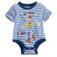 ee0eed93ec1a Little Cowboy Toy Story Disney Cuddly Bodysuit