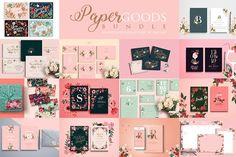 Paper Goods Bundle - Handpicked Set by Werlang Paper on @creativemarket