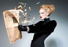 NINA KLEIN: fashion times...