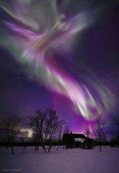 A = Aurora Borealis