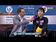 Yuzuru HANYU 羽生結弦 English Interview - 2016 Grand Prix Final