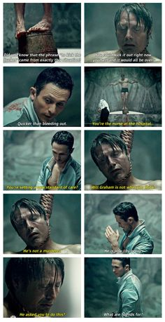I felt bad for Hannibal. Which is a little odd considering he is a cannibalistic serial killer.