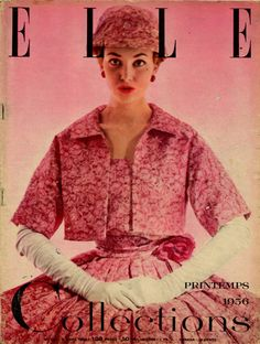 Christian Dior, photo by Lionel Kazan, ELLE, 1956