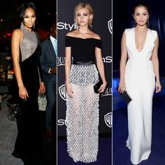 9 Golden Globes Dresses You Didn't See | The Zoe Report
