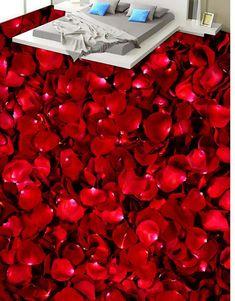 [US $28.56] 3d flooring Rose petals toilet bedroom 3D floor for bathrooms 3d floor painting  #bathrooms #bedroom #floor #flooring #painting #petals #rose #toilet Floor Wallpaper, Cheap Wallpaper, Painting Wallpaper, 3d Flooring, Bathroom Flooring, 3d Floor Painting, Painted Floors, Rose Petals, Toilet