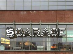Garage (outlet) - Loods 5 Garage, Neon Signs, Interior, Carport Garage, Indoor, Garages, Interiors, Car Garage, Carriage House