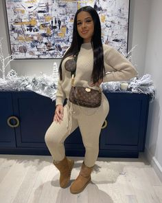 Swag Outfits For Girls, Cute Swag Outfits, Cute Comfy Outfits, Cute Fashion, Girl Fashion, Fashion Outfits, Fashion Ideas, Fall Winter Outfits, Autumn Winter Fashion