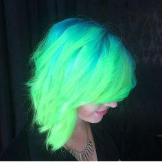 nearly neon