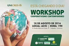 Workshop discute o cooperativismo contempor�neo, no sul de Santa Catarina