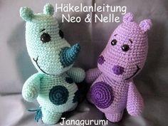 """""""Neo+&+Nelle""""+WollfreundeHäkelanleitung+Amigurumi++von+Janagurumi+auf+DaWanda.com"""
