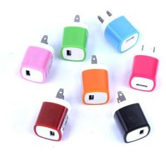 wholesale universal cell phone wall chargers Case of 60