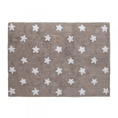 Alfombra Lavable Lorena Canals Nude Messy Stars Blanca