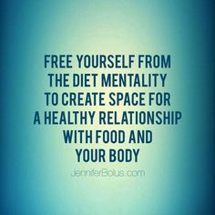 No more #diet love your body . Make peace with #food #mindful