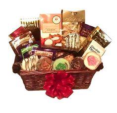 Gourmet Coffee, Tea, Fudge & Cookie Gift Basket by Goldspan Gift Baskets - http://www.fivedollarmarket.com/gourmet-coffee-tea-fudge-cookie-gift-basket-by-goldspan-gift-baskets/