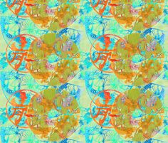 Serenity fabric by greenlotus on Spoonflower - custom fabric