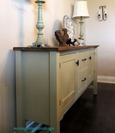 Country Grey Chalk Paint Sideboard