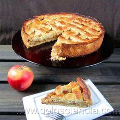 Tarta de manzana americana Fácil receta casera paso a paso http://www.golosolandia.com/2013/11/tarta-de-manzana-americana.html