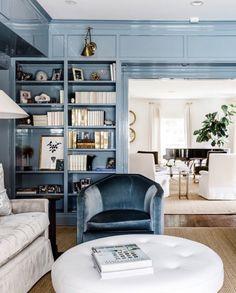 Today I'm super excited to talk about this new interior design book – Dream Design Live by Paloma Contreras. Decor, Living Design, Interior Design, Blue Rooms, Home, House, Room, Interior, Dream Design